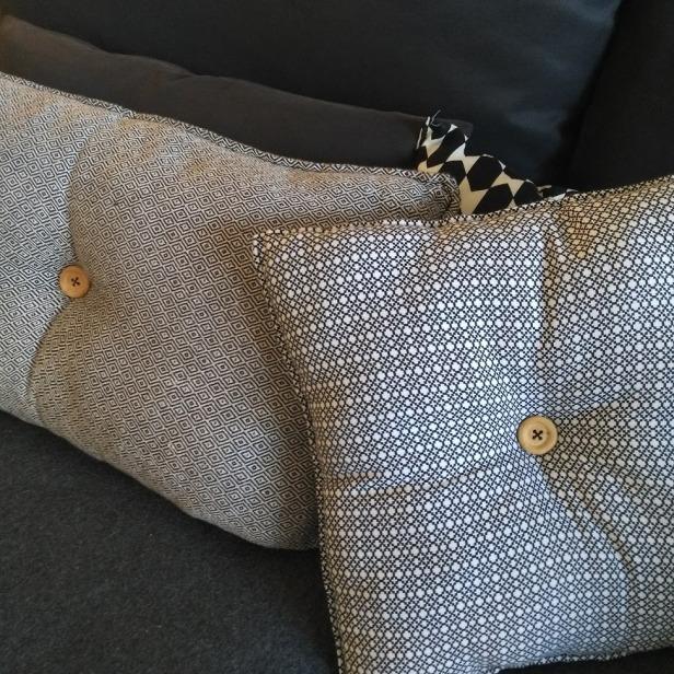 fabriquer des coussins décoration scandinave