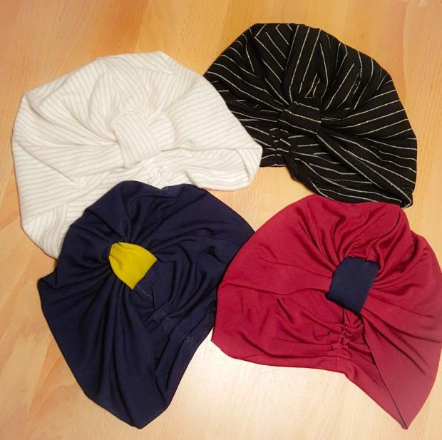 bonnets turban chimio coudre paris