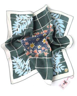foulard sokina peinture sur soie