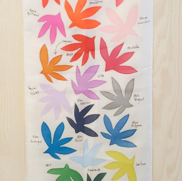peinture sur soie sokina la recolte2
